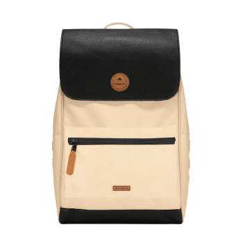 SAC ABIDJAN CREAM-BLACK...