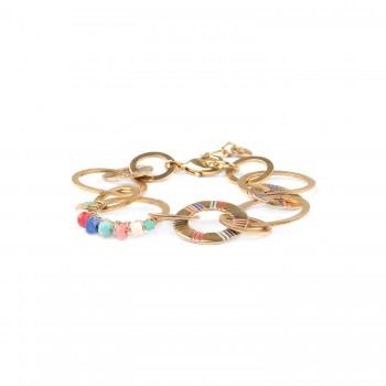 CLARISSE bracelet anneaux...