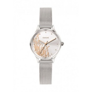 MINETTE 28MM 3H SILVER DIAL...