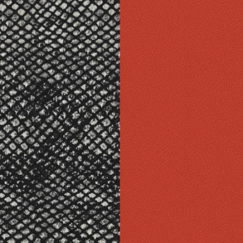 CUIR 40MM BRIQUE/REPTILE